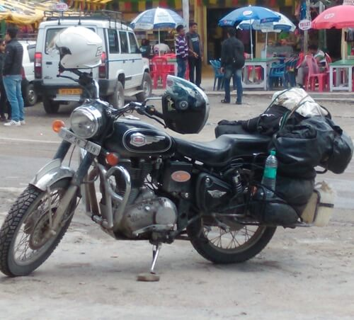 Chopperking Traveling India
