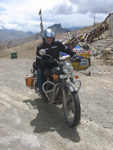 Chopperking Traveling India