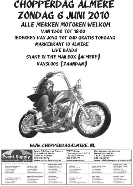 Chopperdag Almere