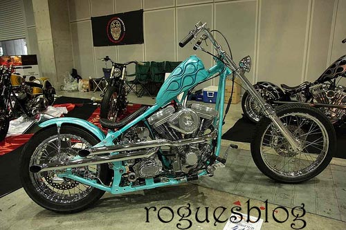 Chopped Softail from Japan