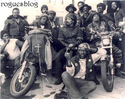 Black bikers