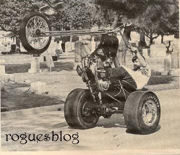 Trike wheelie