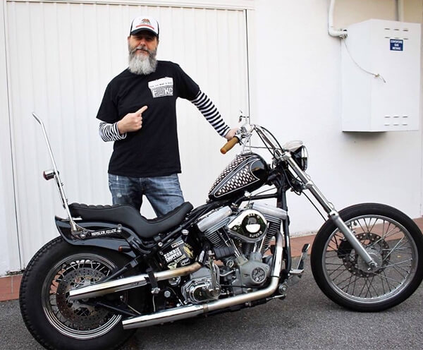 Softail Italy on Harley Softail Frame