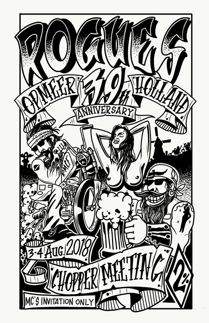 39th Anniversary Rogues MC